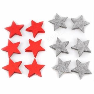 Deko-Sterne Filz 12er