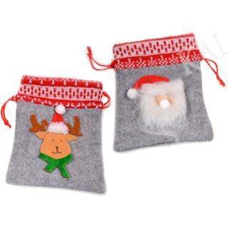 Weihnachtssäckchen Filz