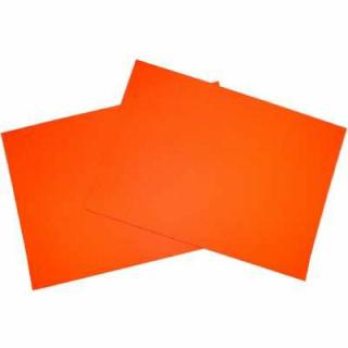 Plakatpappe Leuchtf. orange