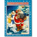 Weihnachtsmalbuch Glitzer