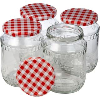 Einmachglas 720 ml 4er