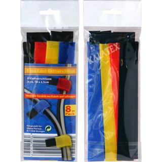 Klettband Kabelbinder 8er Pack