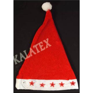Weihnachtsmann-Mütze mit Licht