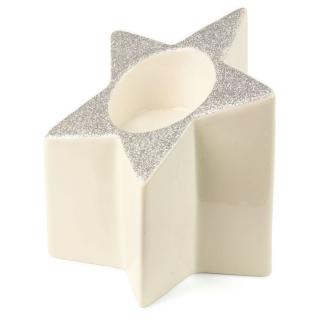 Teelichthalter Stern H:12 cm