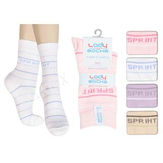 Damen Socke 4er Sprint