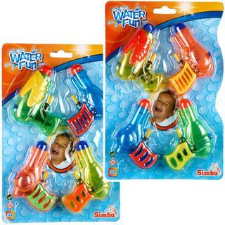 Wasserpistolen 4er Set