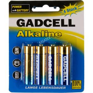 Batterie Gadcell AA 4er