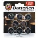 Batterie CR2032 8er Karte