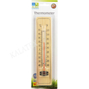 Thermometer Holz, L 22 cm