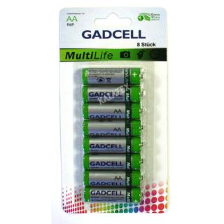 Batterie Gadcell AA/R6 8er