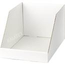 Verkaufsschütte Karton weiss 25x34x20cm