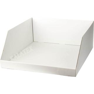 Verkaufsschütte Karton weiss 50x54x20cm