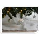 Schneematte aus Filz 100x100cm