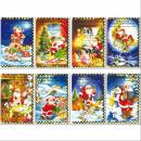 Karten Weihnachten, Neujahr