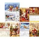 Weihnachtskarten traditionelle Bildmotive