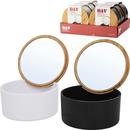 Aufbewahrungsbox mit Spiegel
