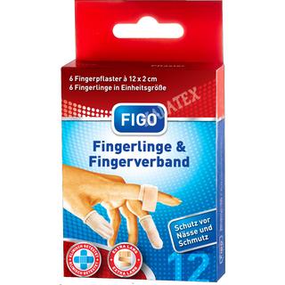 Fingerlinge und Fingerpflaster Set