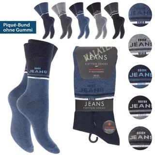 Herren Socke 8er Jeans 43-46