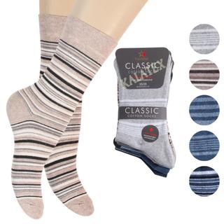 Damen Socke 8er Ringel 39-42