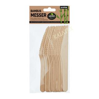 Bambus Einwegbesteck Messer