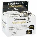 Geldgeschenk Box schwarz-gold
