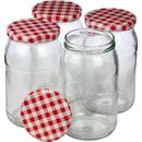 Einmachglas 900 ml 4er