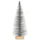 Tannenbaum silbern 15cm