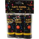 Party Popper 3er Set