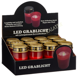 Flackerndes Grablicht LED