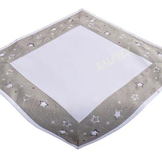 Tischdecke Sterne 55x55 cm