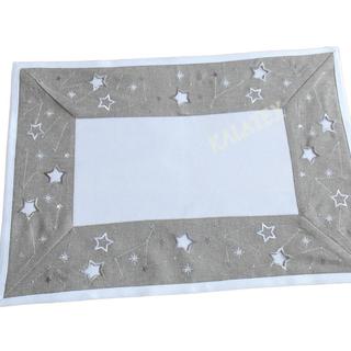 Tischdecke Sterne 35x50 cm