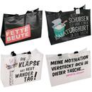 Einkaufstasche mit Spruch