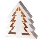 Holzdeko Baum mit LED