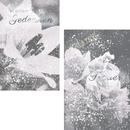 Karten Trauer mit Blumen