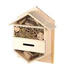 Insektenhotel aus Holz Hexagon