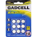 Batterie Alkaline AG10 9er