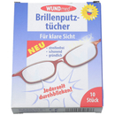 Brillenputztücher 10er Pack