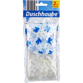 Duschhaube 2er Pack