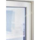 Fensterfliegengitter schwarz 130x150cm