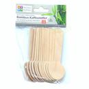 Bambus Einwegbesteck Kaffeelöffel