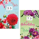 Karten Geburtstag Drehzahl