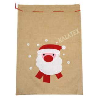 Weihnachtssack Nikolaus 50x70cm
