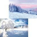 Weihnachtskarten Winterlandschaft