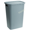 Wäschebox mit Deckel 60L
