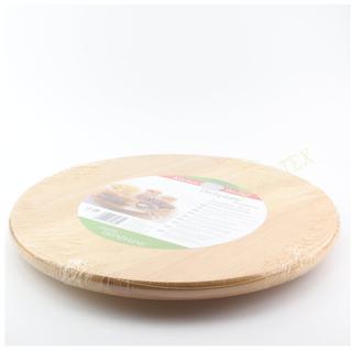 Drehplatte 35 cm aus Gummibaumholz