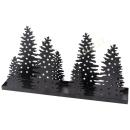 Kerzenständer Bäume Metall für Stumpenkerzen