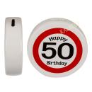 Spardose Happy Birthday 50 Keramik