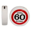 Spardose Happy Birthday 60 Keramik