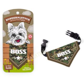 Hundehalstuch Boss 16x10 cm