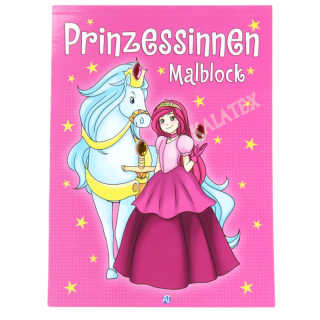 Malblock Prinzessin